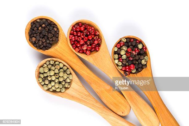 various pepper spice