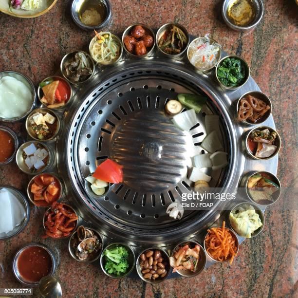 Various pickles in bowl