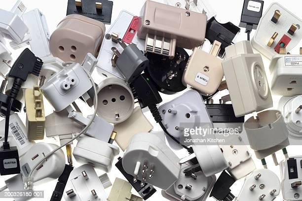 Various plugs and adaptors, full frame