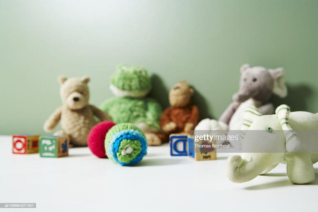 Various soft toys : Stock Photo