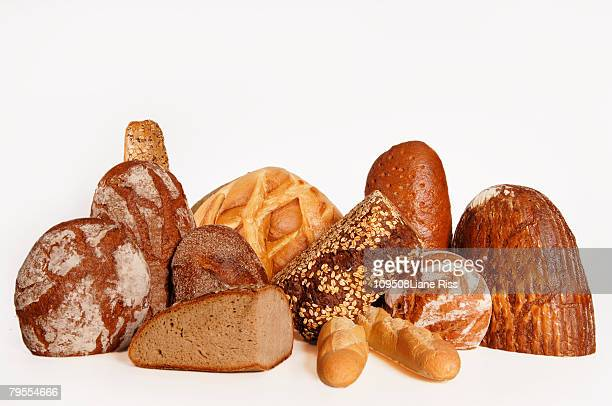 Loaves of bread, close-up