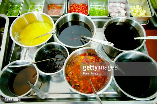 Various spices in kitchen : Stock Photo