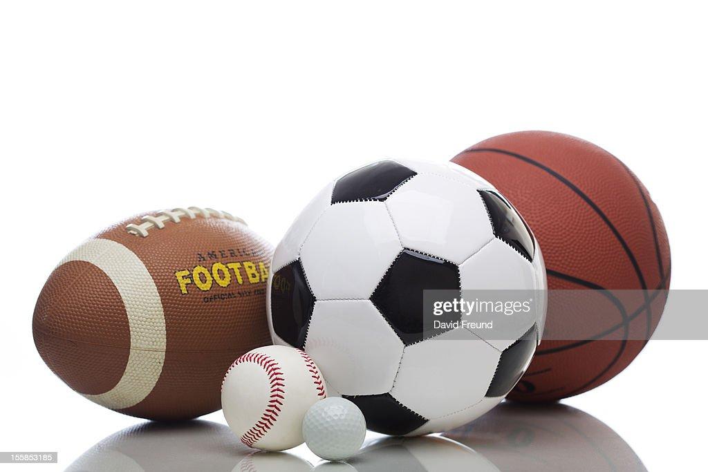 Various Sports Balls : Stock Photo