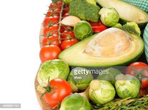 Varias verduras : Foto de stock