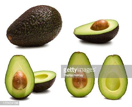 Various ways to look at an avocado