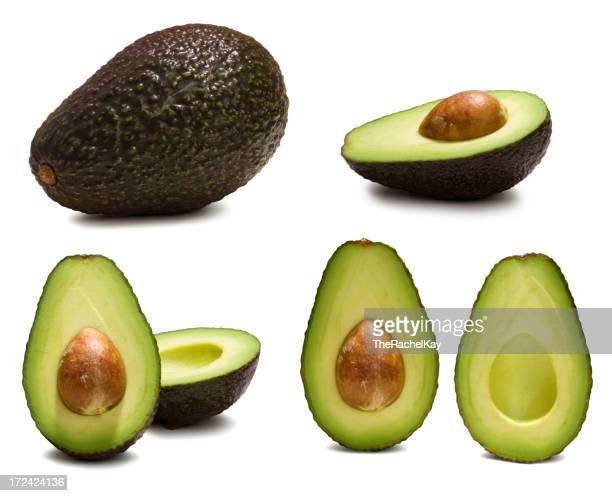 Various ways to look at an avocado