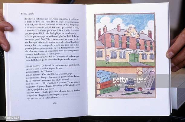 Various Works Made By The Imprimerie Nationale France Ouvrage réalisé par l'IMPRIMERIE NATIONALE le livre POIL DE CAROTTE de Jules RENARD