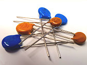 varistor, VDR resistor, resistor, electronics, electricity, component, passive electronics, isolated, electrical component, technology