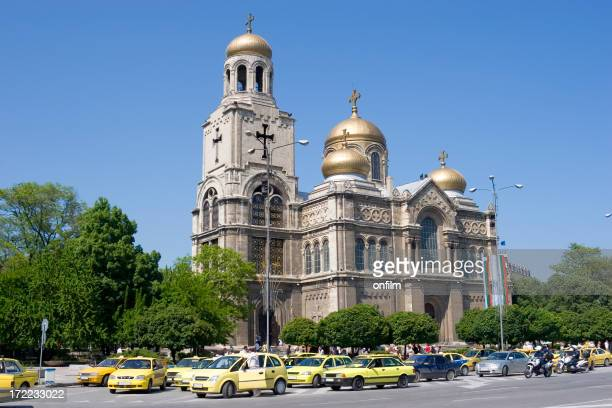Varna Cathedral and square, Bulgaria