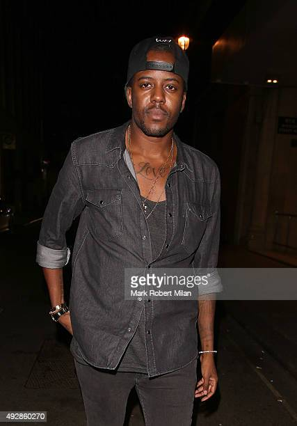 Vas J Morgan attending the Binky x In The Style clothing collection launch on October 15 2015 in London England