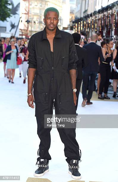 Vas J Morgan attends the European Premiere of 'Magic Mike XXL' at Vue West End on June 30 2015 in London England