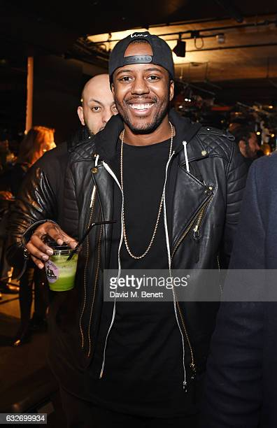 Vas J Morgan attends the launch of the BXR London Gym on January 25 2017 in London England