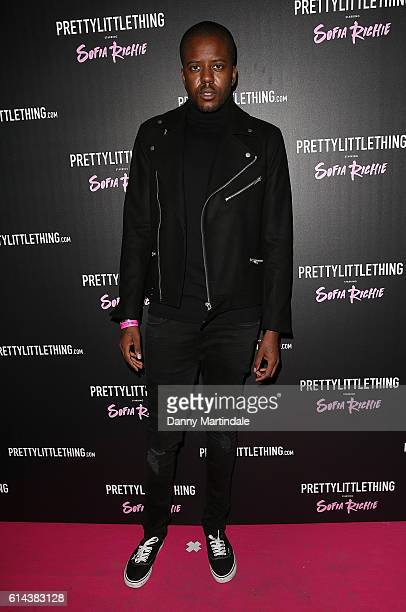 Vas J Morgan attends the Prettylittlething starring Sofia Richie launch party at Tape London on October 13 2016 in London England