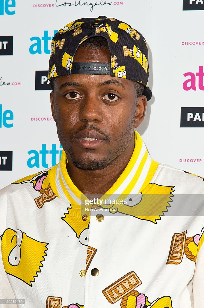 Vas Morgan attends the Attitude Magazine Hot 100 party at Paramount Club on July 16, 2014 in London, England.