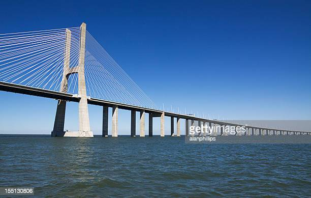 Vasco da Gama moderno Ponte de Tirantes