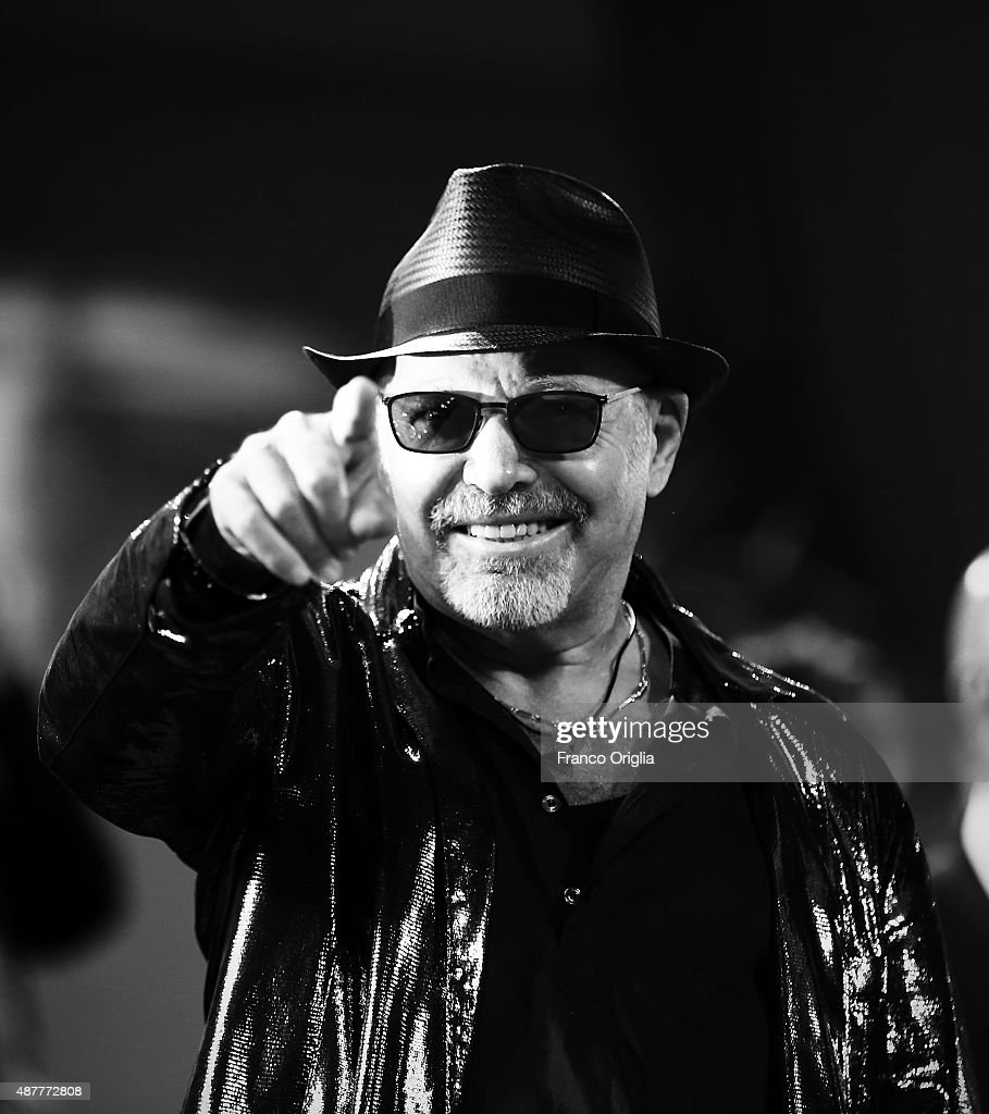 Vasco Rossi attends a premiere for 'Il Decalogo Di Vasco' during the 72nd Venice Film Festival at Sala Grande on September 11, 2015 in Venice, Italy.