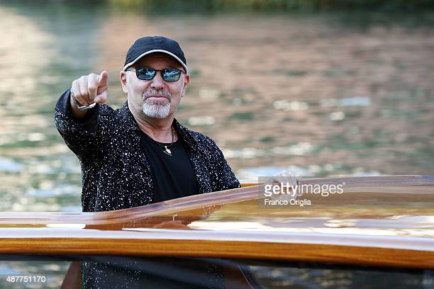 Vasco Rossi is seen during the 72nd Venice Film Festival on September 11 2015 in Venice Italy