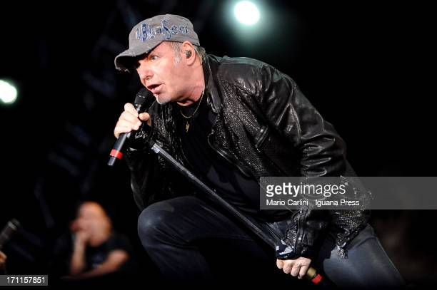 Vasco Rossi performs at Stadio Renato Dall'Ara on June 22 2013 in Bologna Italy