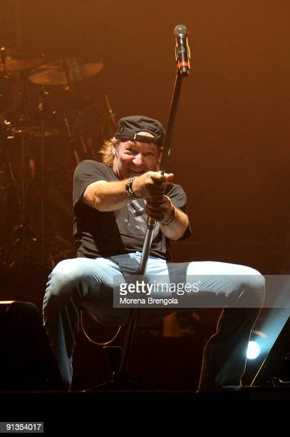 Vasco Rossi performs at the PalaBam on October 2 2009 in Mantova Italy