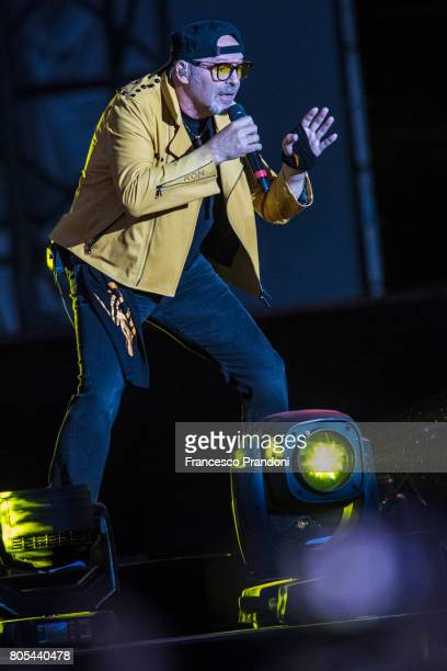 Vasco Rossi performs in Parco Ferrari on July 1 2017 in Modena Italy