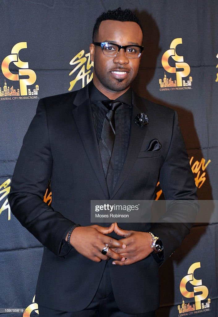 Vashaun Mitchell attends the 28th Annual Stellar Awards at Grand Ole Opry House on January 19, 2013 in Nashville, Tennessee.