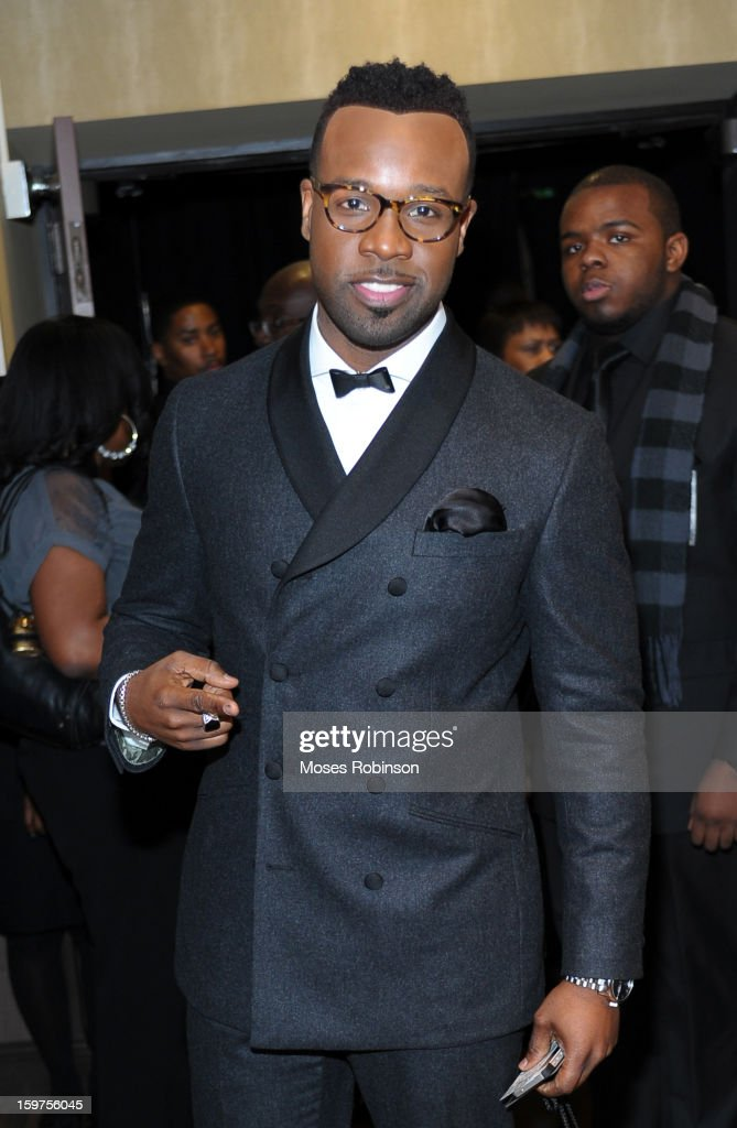 Vashaun Mitchell attends the 28th Annual Stellar Awards Backstage at Grand Ole Opry House on January 19, 2013 in Nashville, Tennessee.