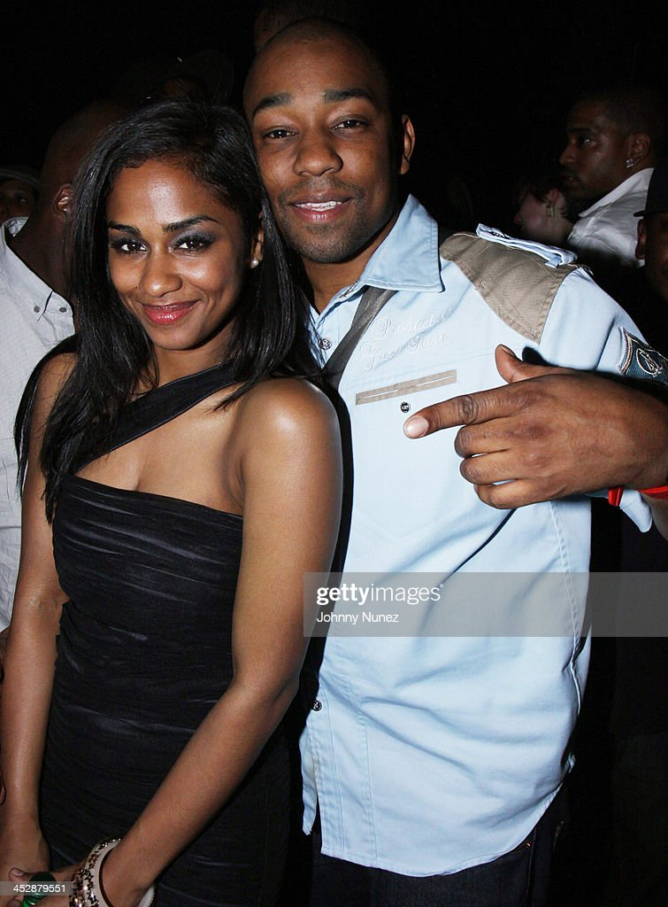 Vashtie Kola and Dennis Da Menace attend Vashtie Kola's birthday party at Santos on April 28 2009 in New York City