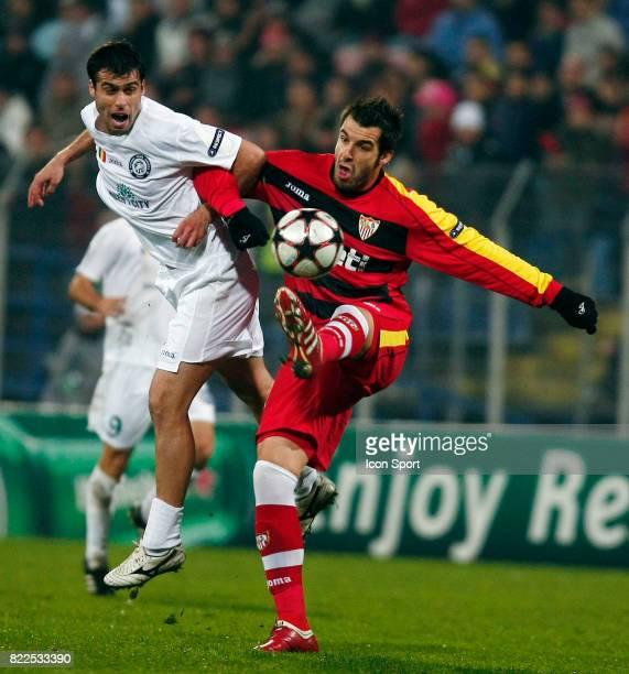 Vasile Maftei / Negredo Unirea Urzineci / FC Seville Champions League 2009/2010