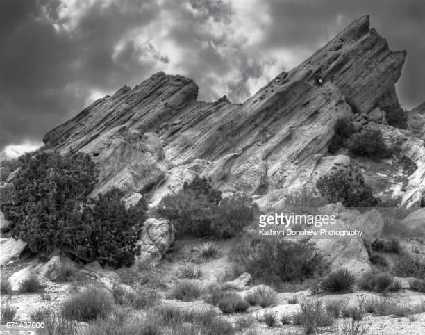 Vasquez Rock_ Climbing slanted rock Natural Area Park