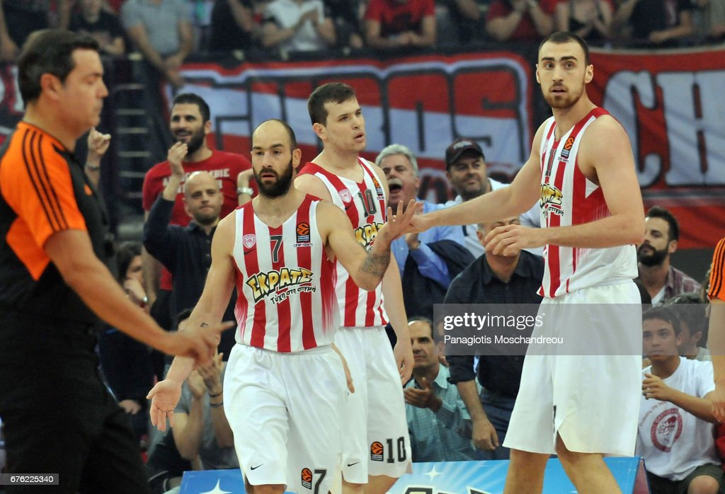 Olympiacos Piraeus v Anadolu Efes Istanbul - Turkish Airlines Euroleague Play Off Leg Five