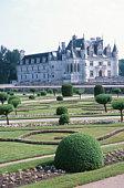 Vast castle garden
