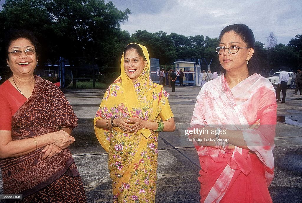 Vasundhara Raje Scindia Chief Minister of Rajasthan with Yashodhara Raje Scindia and another woman