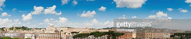 Città del Vaticano vista di Roma sul panorama St Peters Basilica in Italia