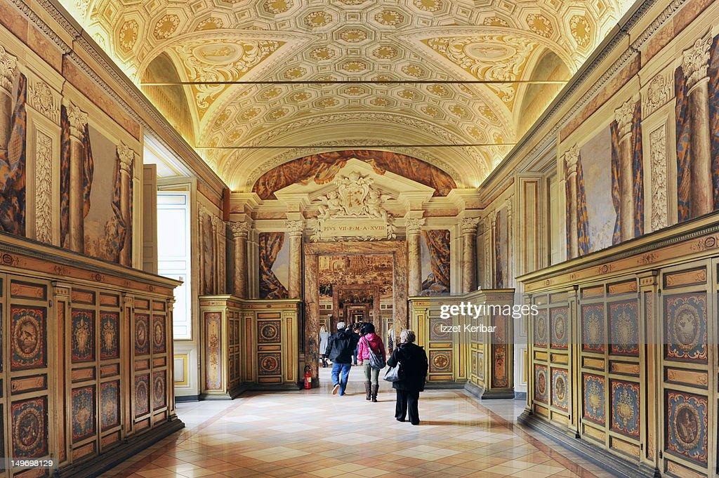 Vatican Museum Gallery.