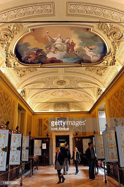 Vatican Museum libary.