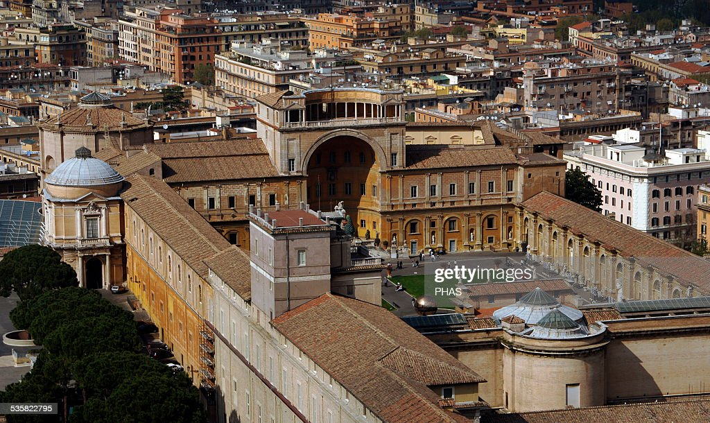 Vatican Museums Founded by Pope Julius II 16th century Vatican City Exterior