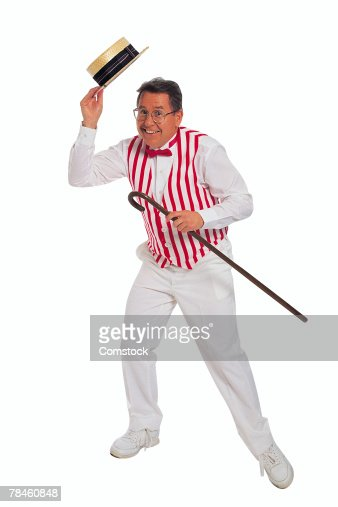 Vaudeville entertainer dancing