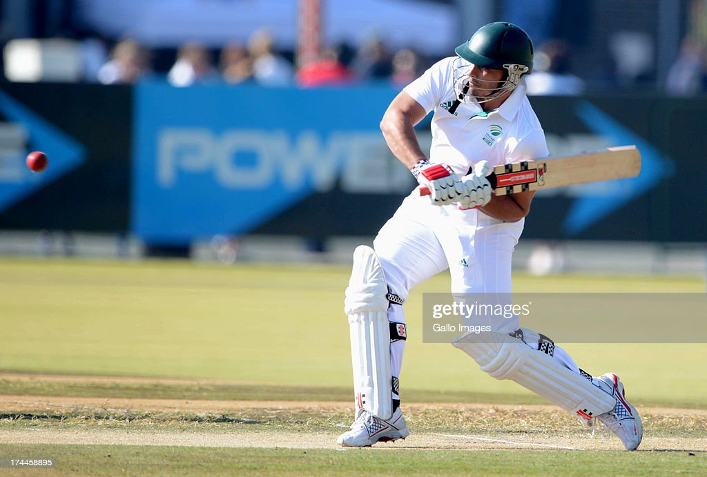 Vaughn van Jaarsveld of South Africa A during day 3 of the 1st Test match between South Africa A and Australia A at Tuks Oval on July 26, 2013 in Pretoria, South Africa.
