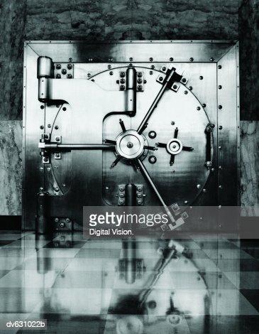 Vault Door : Stock Photo