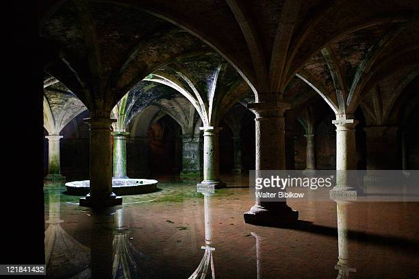 Vaulted water cistern (b.1513) used in the Orson Wells film 'Othello'(1954), Cite Portugaise, Portuguese Fortress- Church of the Assumption