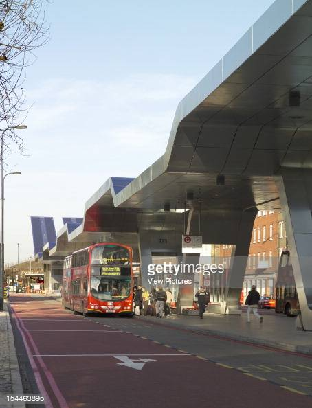 Vauxhall Cross Bus Station London United Kingdom Architect Arup Associates Vauxhall Cross Bus Station General View Of Canopy