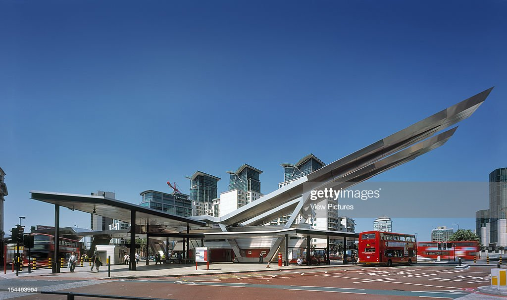 Vauxhall Cross Bus Station London United Kingdom Architect Arup Associates Vauxhall Cross Bus Station Southeast Facing Elevation