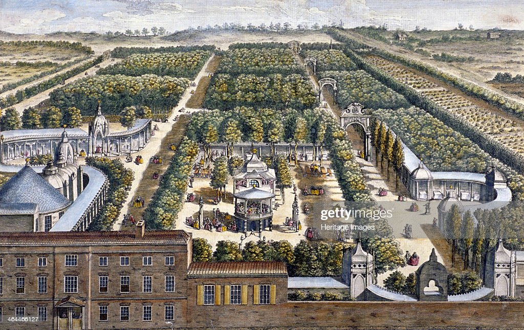 Vauxhall Gardens Lambeth London 1751