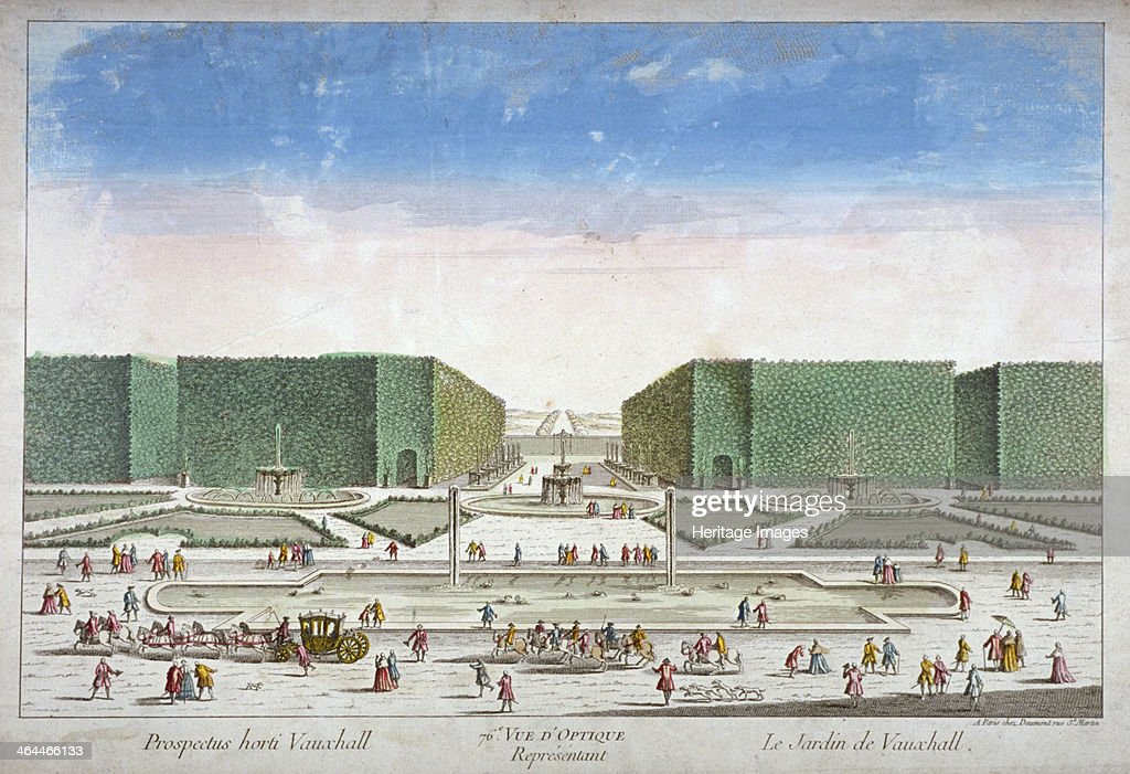Vauxhall Gardens Lambeth London c1750