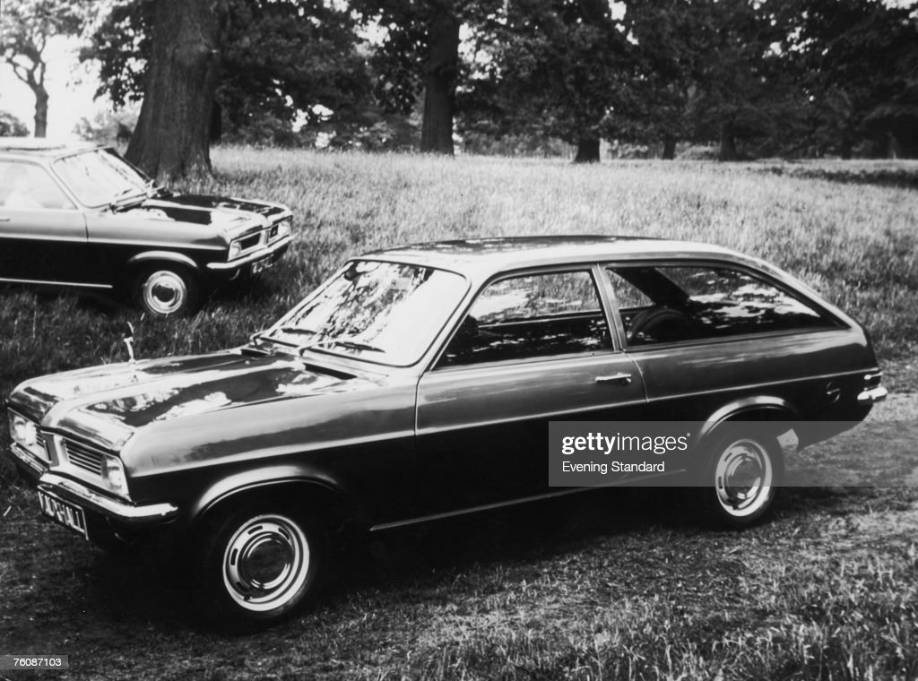A Vauxhall Viva HC de Luxe twodoor fastback estate car 13th October 1970