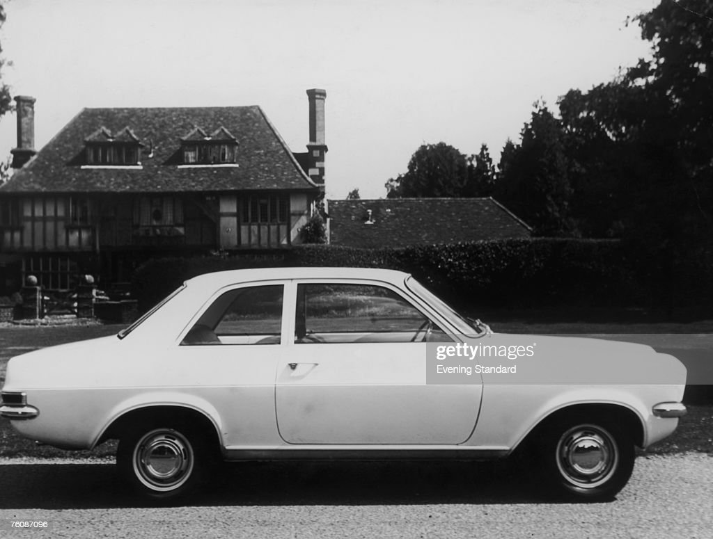 A Vauxhall Viva HC de Luxe twodoor saloon car 13th October 1970