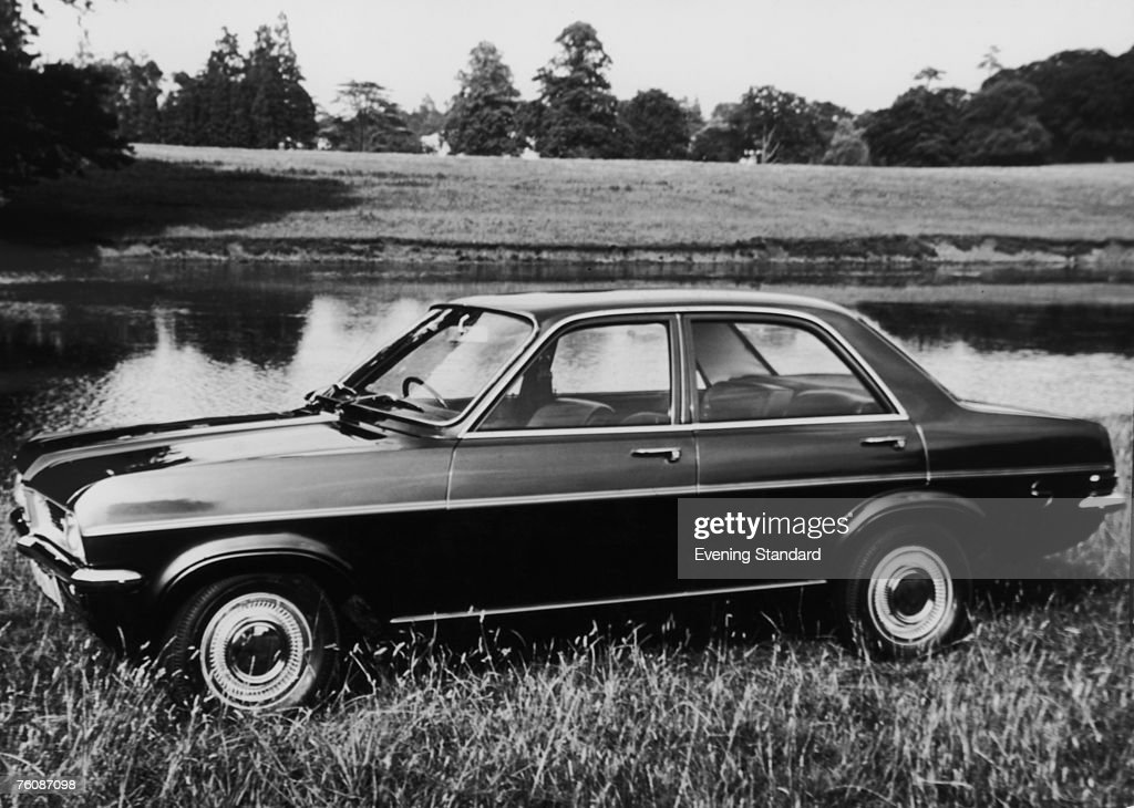 A Vauxhall Viva HC SL fourdoor saloon car 13th October 1970
