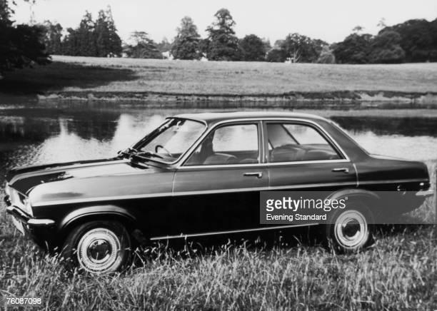 A Vauxhall Viva HC SL fourdoor saloon car 13th October 1970