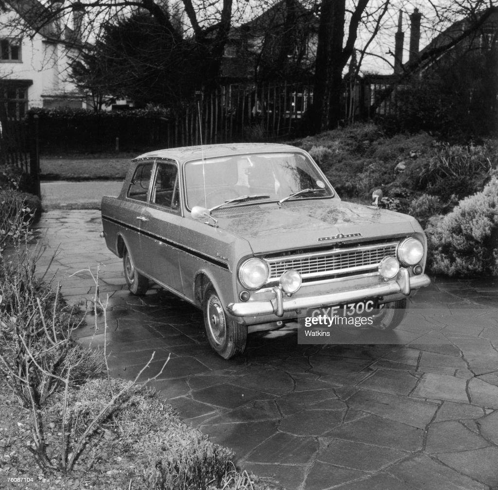 A Vauxhall Viva HA twodoor saloon car 7th July 1966