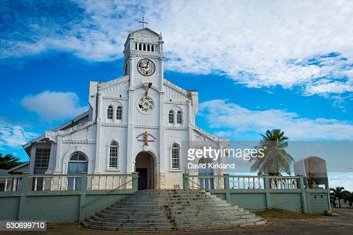 Vavau Church; Tonga